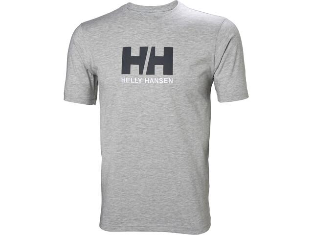 Helly Hansen HH Logo T-paita Miehet, grey melange